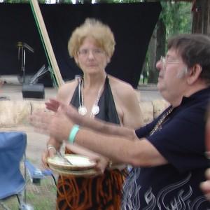 Ken Ra blesses Feast