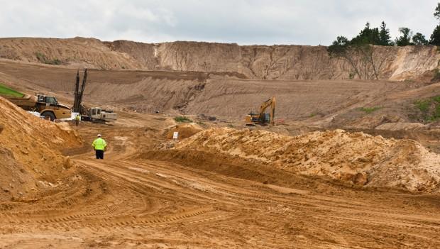 Frac Sand Minephoto: La Crosse Tribune